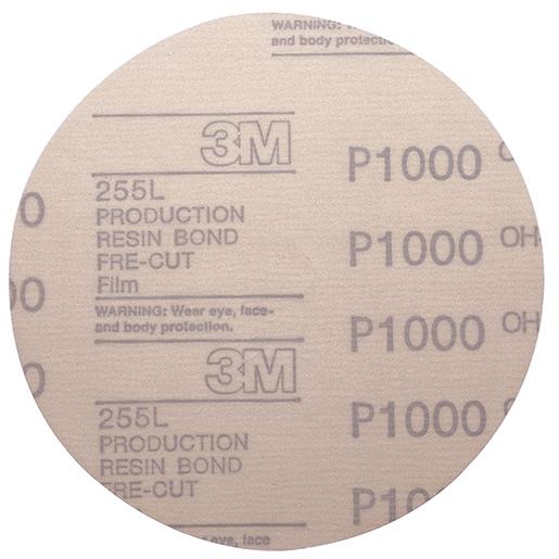 3M Hookit Abrasive Disc, 6, 1000 Grit, 100-Pack