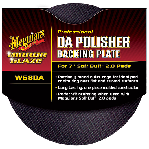 Meguiars DA Backing Plate For Soft Buff 2.0 Foam Pads Sale $29.99 SKU: 15556160 ID# W68DA UPC# 70382200688 :