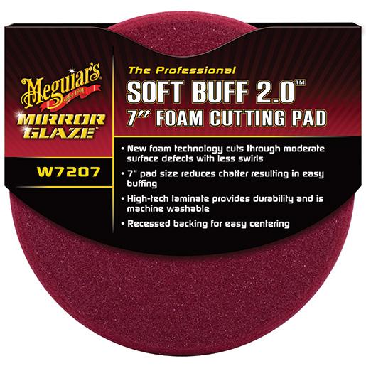 Meguiars Mirror Glaze 7 Soft Buff 2.0 Foam Cutting Pad Sale $19.99 SKU: 15556178 ID# W7207 UPC# 70382172077 :