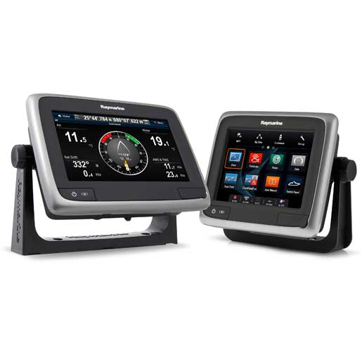 Raymarine a77 Multi-Function Display with Wi-Fi and US LightHouse Vector Charts
