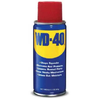 WD-40 Lubricant, Aerosol, Low VOC, 3oz.