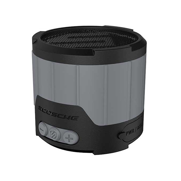 Scosche boomBOTTLE mini Weatherproof Wireless Speaker—Gray