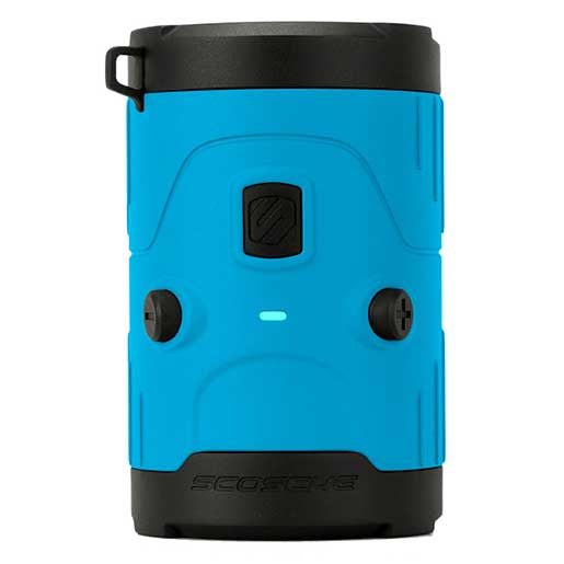 Scosche boomBOTTLE H2O Waterproof Wireless Speaker—Blue
