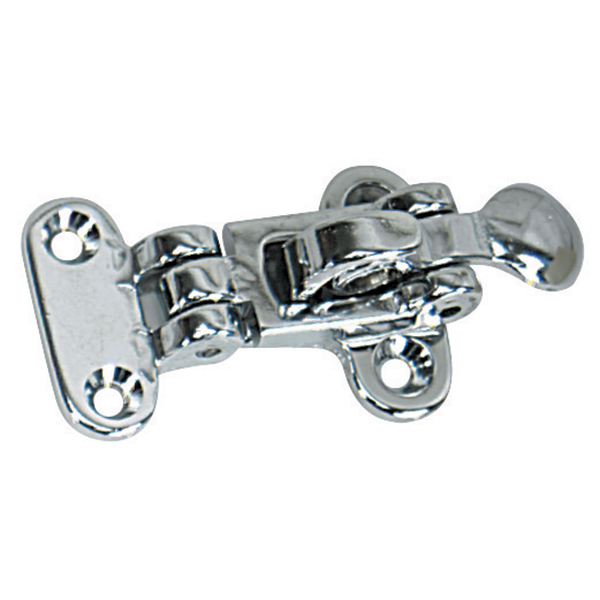 Whitecap Hold Down Clamp Latch, Chrome-Plated Brass