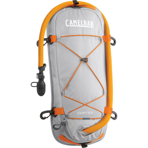 Camelbak Cortez Deck-Mounted Kayak Hydration Pack Silver/orange