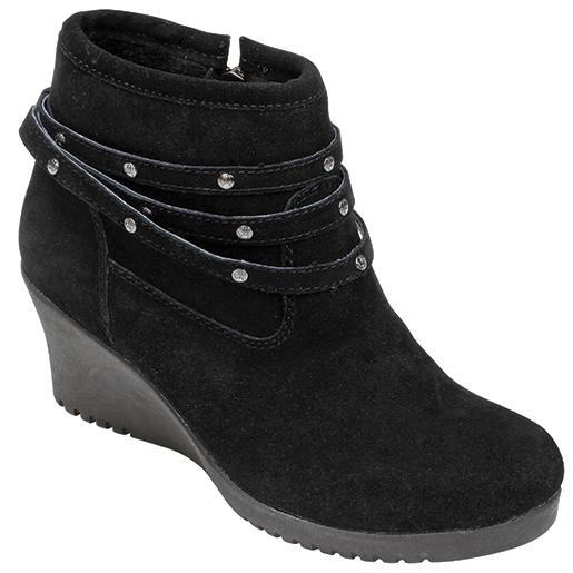 Bear Paw Tackle Womens Glimmer Shoes Black Sale $39.77 SKU: 15624240 ID# 1686W-11-24 UPC# 840627112416 :