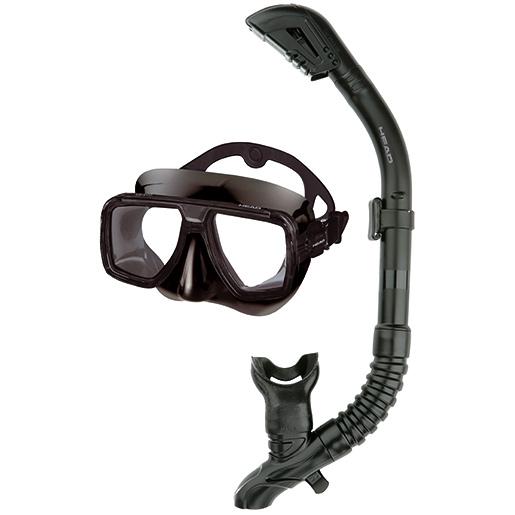 HEAD Tarpon Dry Mask Combo, Black Sale $39.95 SKU: 15627409 ID# 481210HBBK BK UPC# 792460100818 :