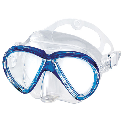 HEAD Marlin Purge Mask, Blue Sale $34.95 SKU: 15627482 ID# 481215HMBL CL UPC# 792460100955 :
