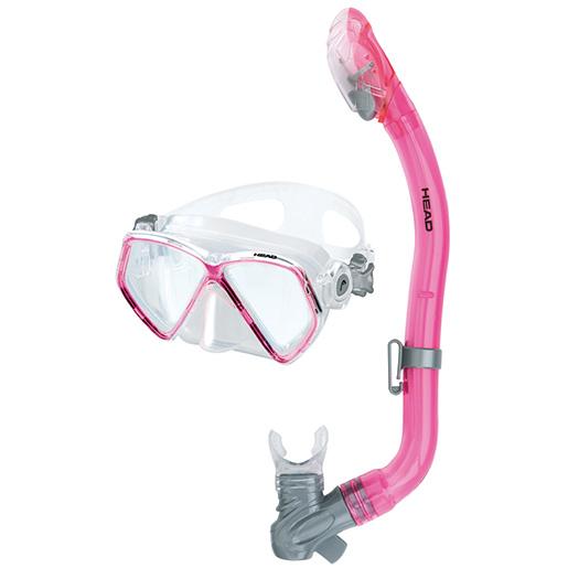 HEAD Pirate Junior Dry Snorkel Combo, Pink Sale $29.95 SKU: 15627656 ID# 481223GUPK CL UPC# 792460102003 :