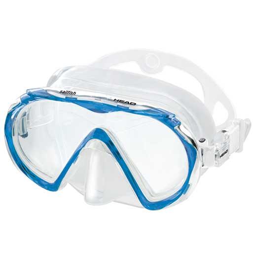HEAD Sailfish Mask, Blue Sale $24.99 SKU: 15627664 ID# 481218HMBL CL UPC# 792460101044 :