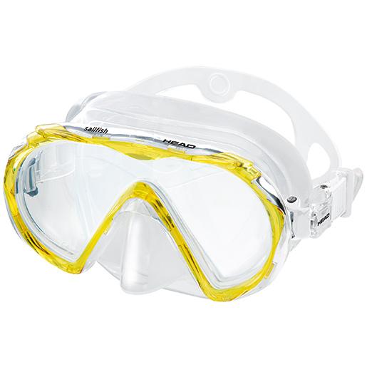 HEAD Sailfish Mask, Yellow Sale $24.99 SKU: 15627672 ID# 481218HMYL CL UPC# 792460101051 :