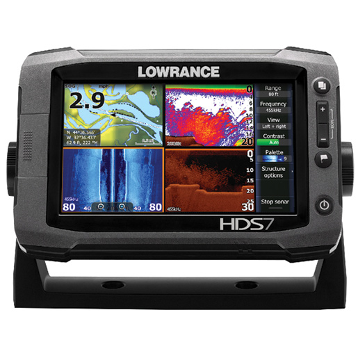 Lowrance HDS-7 Gen2 Touch Fishfinder/Chartplotter with one-year Insight Genesis subscription, no transducer Sale $649.99 SKU: 15630650 ID# 000-11682-001 UPC# 9420024133279 :