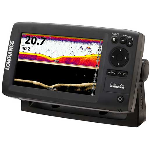 Lowrance Elite-7x CHIRP Fishfinder, without Transducer Sale $349.99 SKU: 15631476 ID# 000-11666-001 UPC# 9420024132586 :