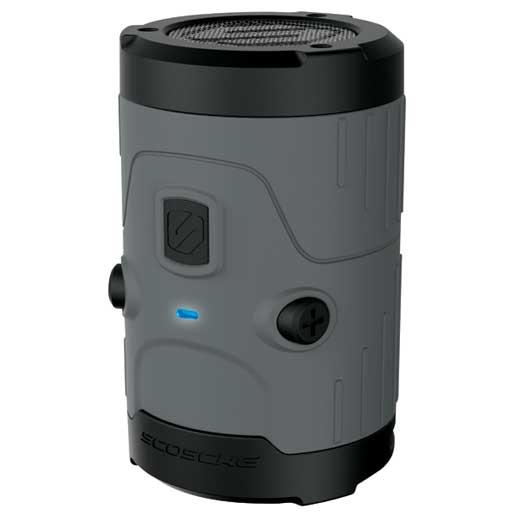 Scosche boomBOTTLE H2O Waterproof Wireless Speaker—Gray