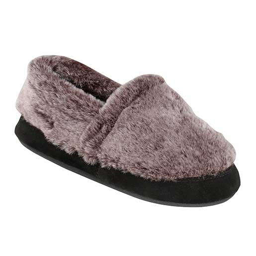 Women's Acorn Moc Slipper Chinchilla Sale $23.99 SKU: 15655566 ID# A10080ADS-3 UPC# 49129326752 :
