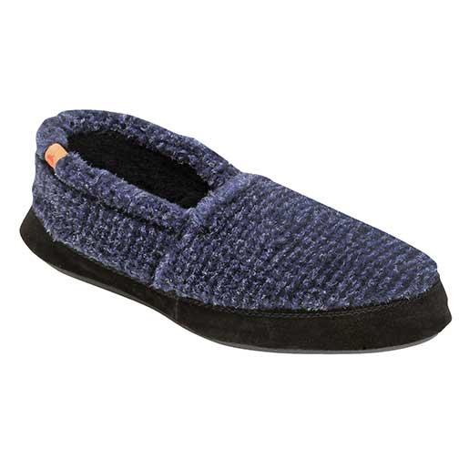 Men's Acorn Moc Slipper Blue