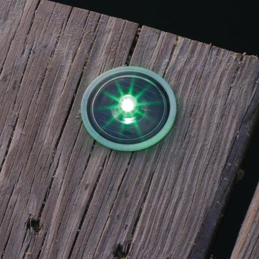 Lake Lite Inc Solar Dock and Deck Dots, Green, 4-Pack Sale $52.99 SKU: 15659311 ID# LL-SDD-DOT-G UPC# 794504021622 :