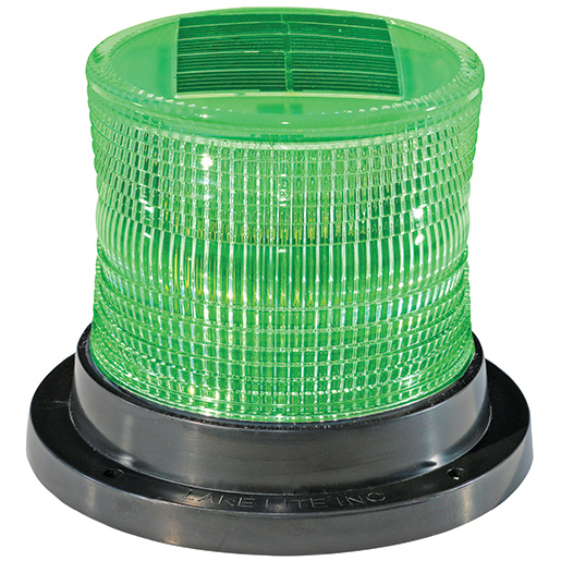 Lake Lite Inc Solar Dock Marker Lite, Green