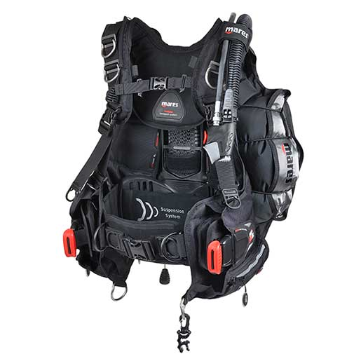 Mares Hybrid Pro Tec BCD, Medium/Large