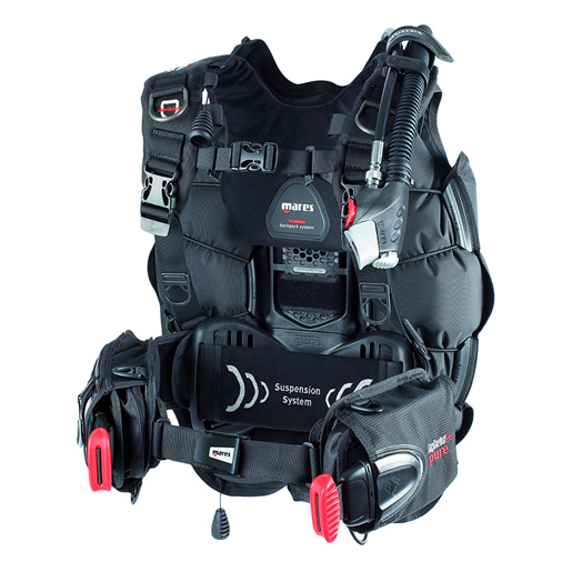 Mares Hybrid Pure Backpack BCD, Medium/Large Sale $369.95 SKU: 15668403 ID# 417352M/L UPC# 792460106247 :