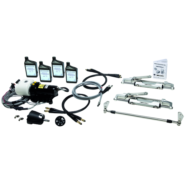 Uflex MasterDrive Power Assisted Outboard Steering System