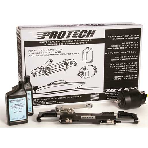 Uflex Protech 2.0 Hydraulic Outboard Steering System