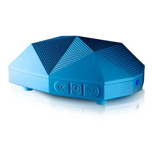 Outdoor Tech Turtle Shell 2.0 Rugged Wireless Bluetooth Speaker—Electric Blue