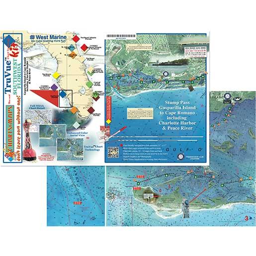 Coastal Charts Tru Vue Chartkit—Soutwest Florida