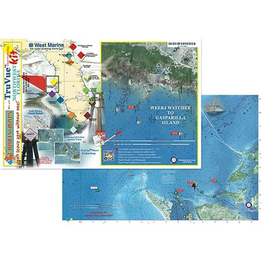 Coastal Charts TruVue Chartkit—Northwest Florida Sale $54.99 SKU: 15710288 ID# NWF TRUVUE :