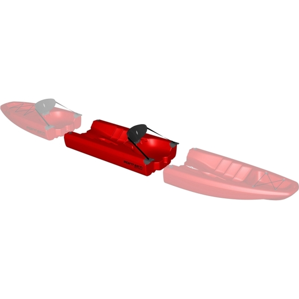 Point 65 Apollo Modular Sit-On-Top Kayak Midsection, Red Sale $299.99 SKU: 15712623 ID# 147152404 UPC# 7340044909710 :