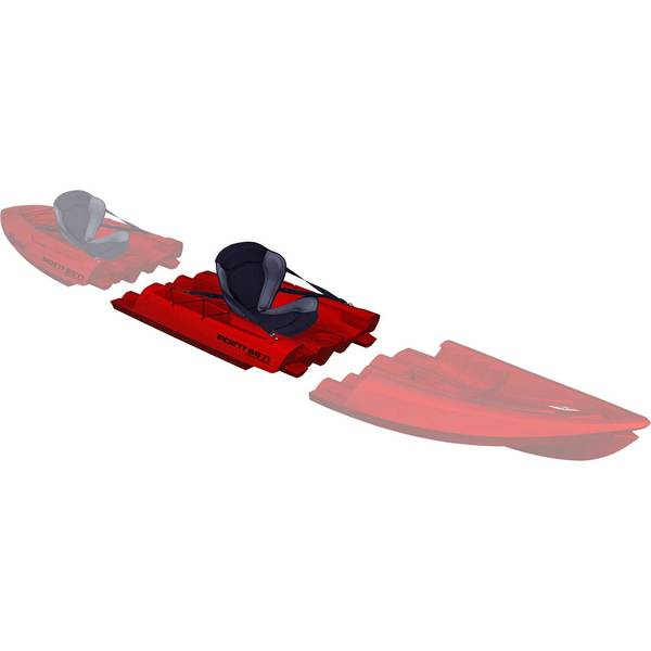 Point 65 Tequila! GTX Modular Sit-On-Top Kayak Midsection, Red Sale $599.99 SKU: 15712631 ID# 15301250104 UPC# 7340044914219 :