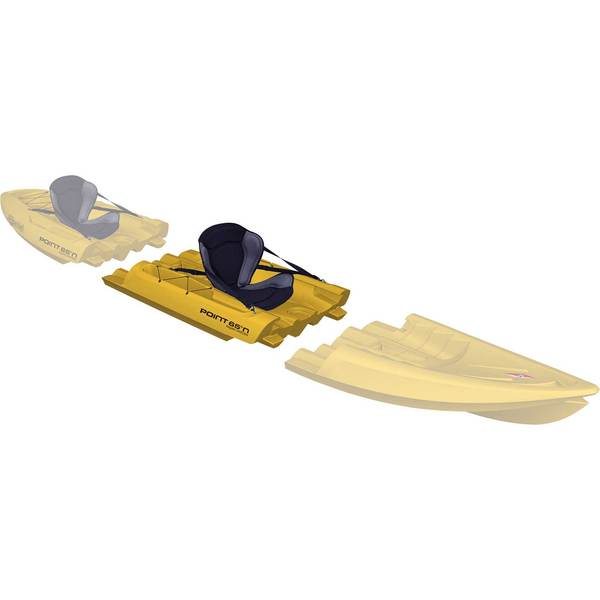 Point 65 Tequila! GTX Modular Sit-On-Top Kayak Midsection, Yellow Sale $599.99 SKU: 15712649 ID# 15301250103 UPC# 7340044914202 :