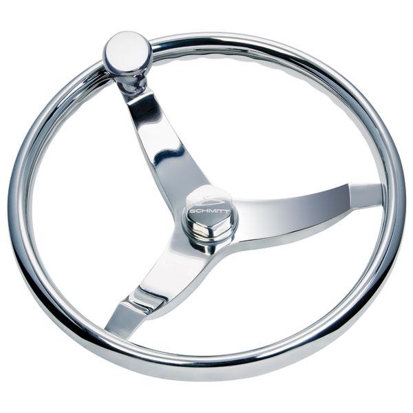 Schmitt Marine Steering Vision Elite 13 1/2 Steering Wheel with Knob