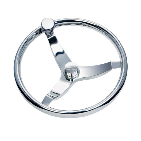 Schmitt Marine Steering Vision Elite 15 1/2 Steering Wheel with Knob