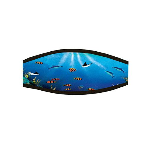 Trident Marine Reef Fish Split Mask Strap Cover Sale $10.99 SKU: 15722861 ID# RPH56-A UPC# 618152036084 :