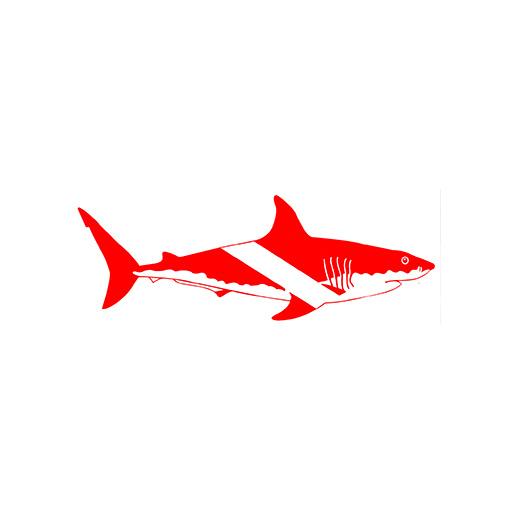 Trident Marine Shark Dive Flag Sticker, Large Sale $1.99 SKU: 15723216 ID# DS63 UPC# 618152017748 :
