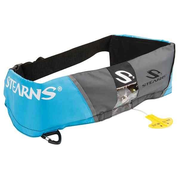 Stearns Manual Inflatable PFD Belt, Blue/Gray Sale $99.99 SKU: 15725591 ID# 2000013883 UPC# 44411006282 :