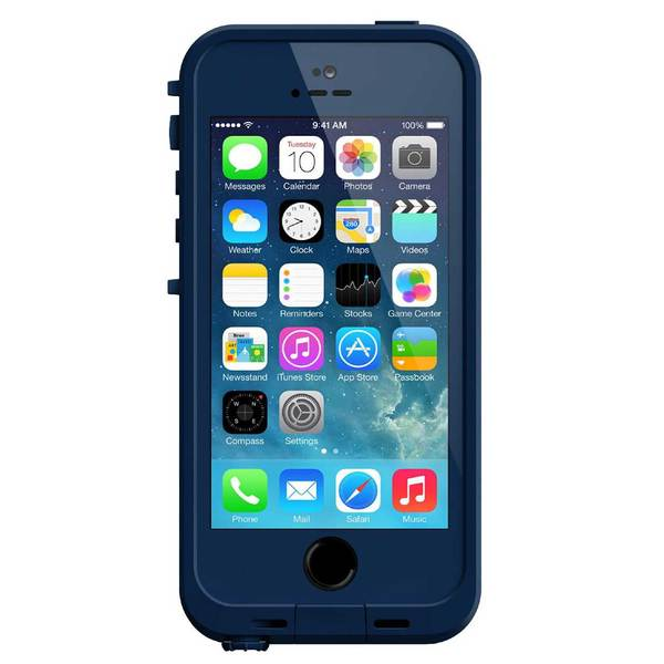 Lifeproof iPhone 5 and 5s fre Case, Blue Sale $39.77 SKU: 15728215 ID# 2115-05 UPC# 819859013716 :