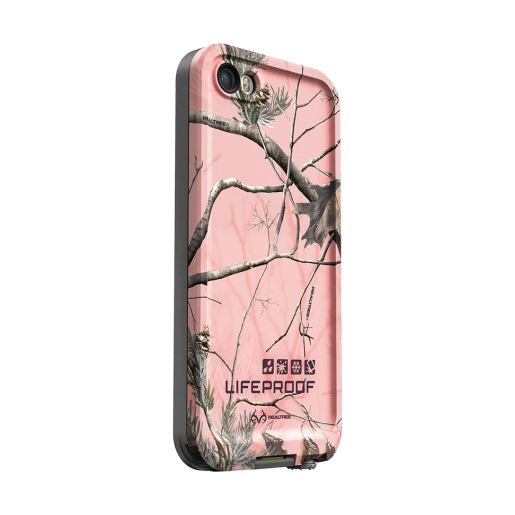 Lifeproof iPhone 5 and 5s fre Case, Realtree Pink Winter Trees Sale $39.77 SKU: 15728256 ID# 2111-01 UPC# 819859015277 :