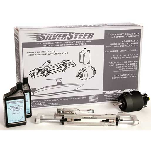 Uflex SilverSteer 2.0 High-Performance Hydraulic Steering System