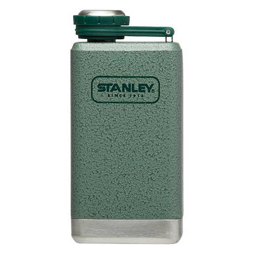 Stanley Stainless Steel Adventure Flask, Green, 5oz. Sale $17.99 SKU: 15751712 ID# 10-01695-001 UPC# 41604258664 :