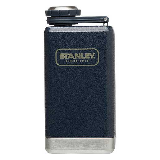Stanley Stainless Steel Adventure Flask, Navy, 5oz. Sale $17.99 SKU: 15751720 ID# 10-01695-002 UPC# 41604258862 :