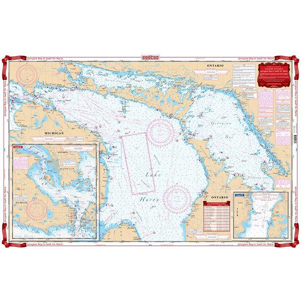 Waterproof Charts Eastern Lake Erie Chart Sale $26.99 SKU: 15772304 ID# 158 :