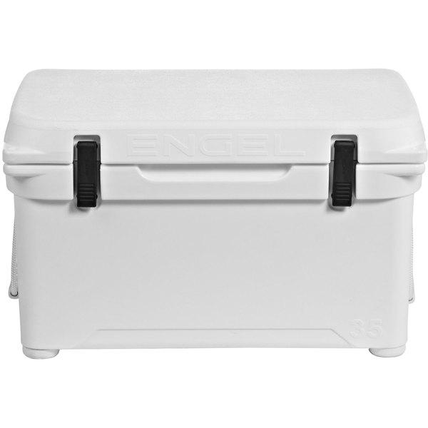 Engel High Performance Cooler, 35qt., White