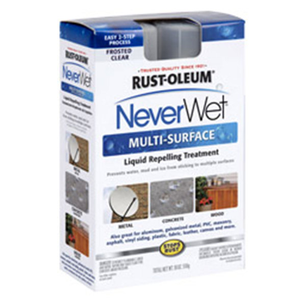 Rust-oleum NeverWet Liquid Repelling Treatment Kit, Clear