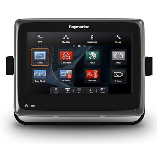 Raymarine a95 Multi-Function Display with Wi-Fi & US LightHouse Vector Charts