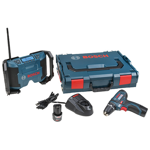 Bosch 12V Cordless Drill/Driver and Radio Sale $129.99 SKU: 15874084 ID# 060186811J UPC# 346462418 :