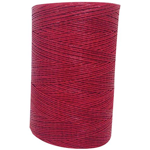Bainbridge No. 4 Waxed Whipping Twine—Red