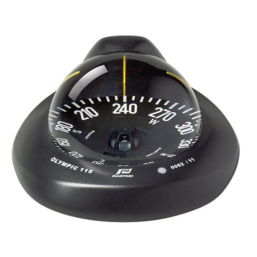 Plastimo Olympic 115 Compass—Black Case with Black Flat Card Sale $259.99 SKU: 15885007 ID# P60997 UPC# 3162420609977 :
