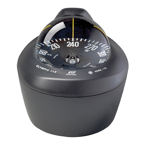 Plastimo Olympic 115 Compass—Black, Black Conical Card, Inclined Surface Mount Sale $259.99 SKU: 15885056 ID# P60999 UPC# 3162420609991 :